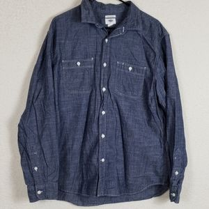 Mens old navy button down long sleeve size XL